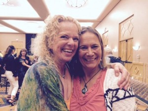 Maryna Allan and Donna Eden